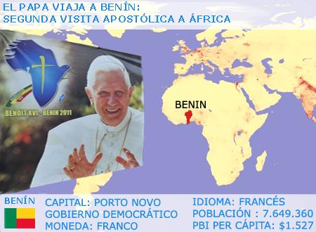 Benedicto XVI: África es un inmenso 'pulmón' espiritual de la hunanidad
