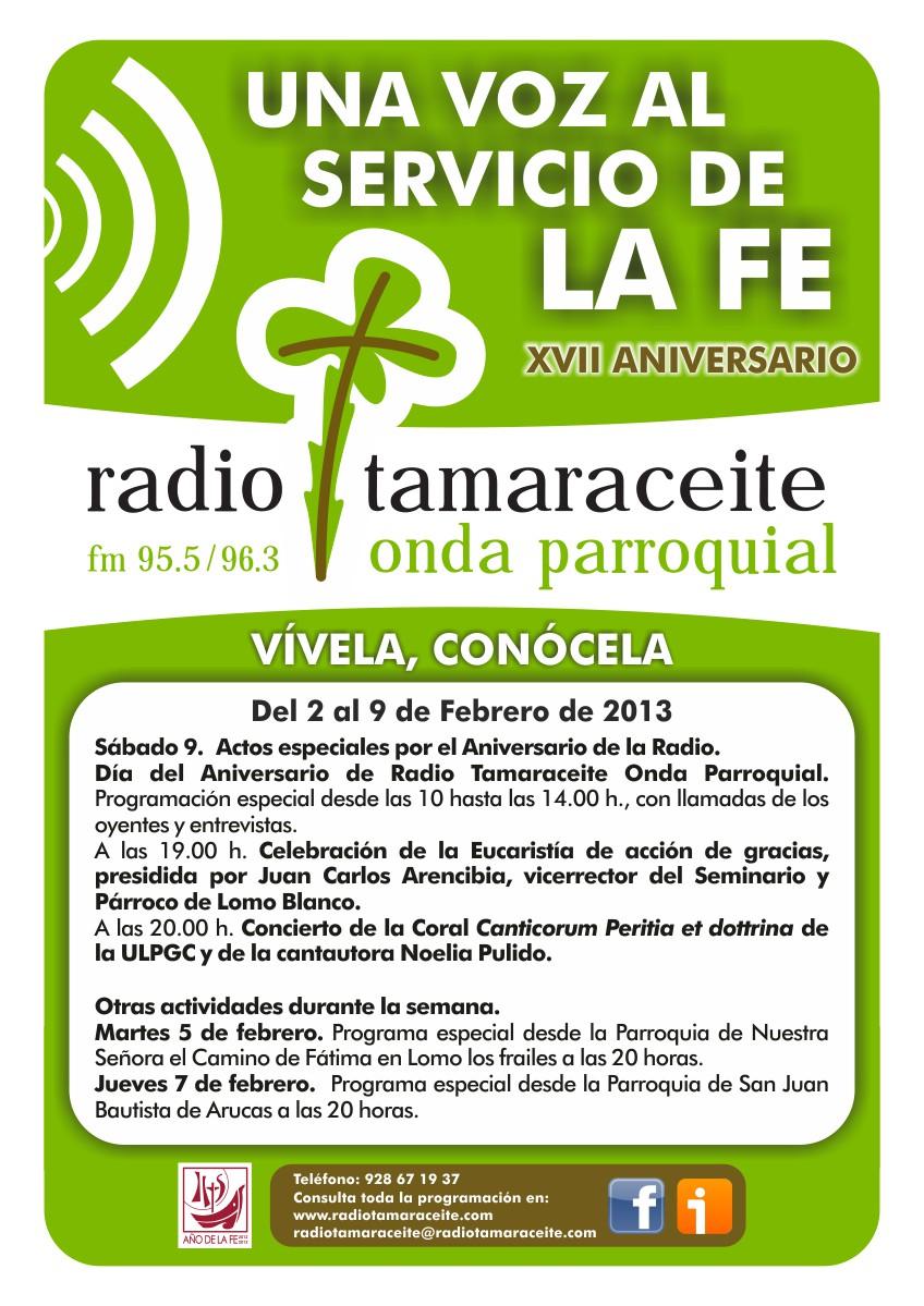 XVII Aniversario de Radio Tamaraceite