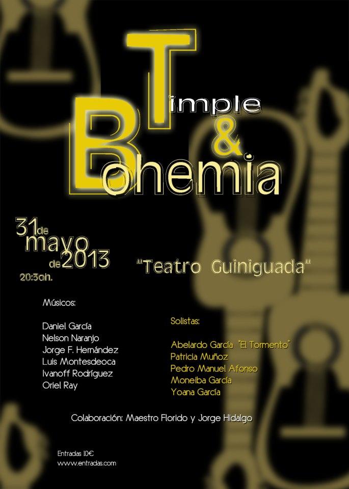 'El candil', Prog. 41.Timple y Bohemia presenta su nuevo espestáculo