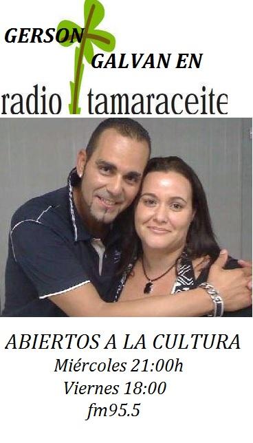 'Abiertos a la cultura', Prog. 7, Gerson Galván celebra sus 25 años en la música
