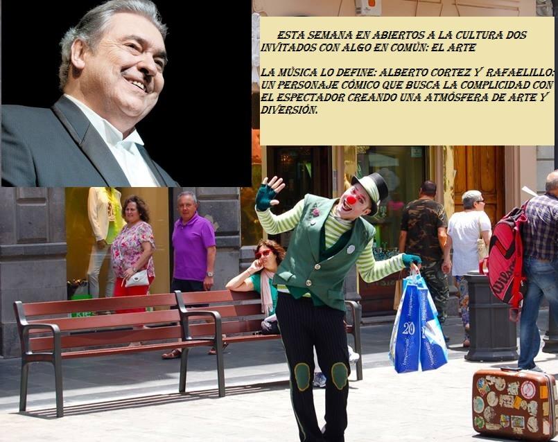 'Abiertos a la cultura' Prog 12. Alberto Cortez y Rafaelillo Clown Cabaret