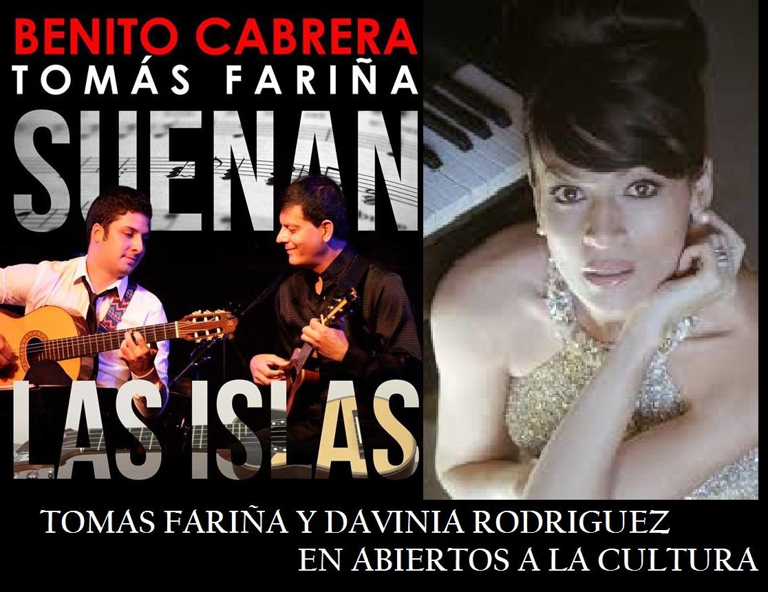 Entrevista al guitarrista Tomás Fariña y a la soprano Davinia Rodríguez» en 'Abiertos a la Cultura'