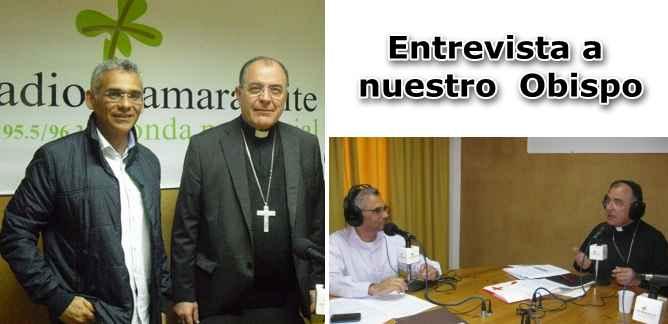 El Obispo de Canarias en Radio Tamaraceite