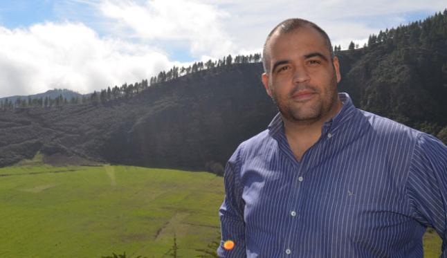 Yeray Rodríguez en 'El andén'