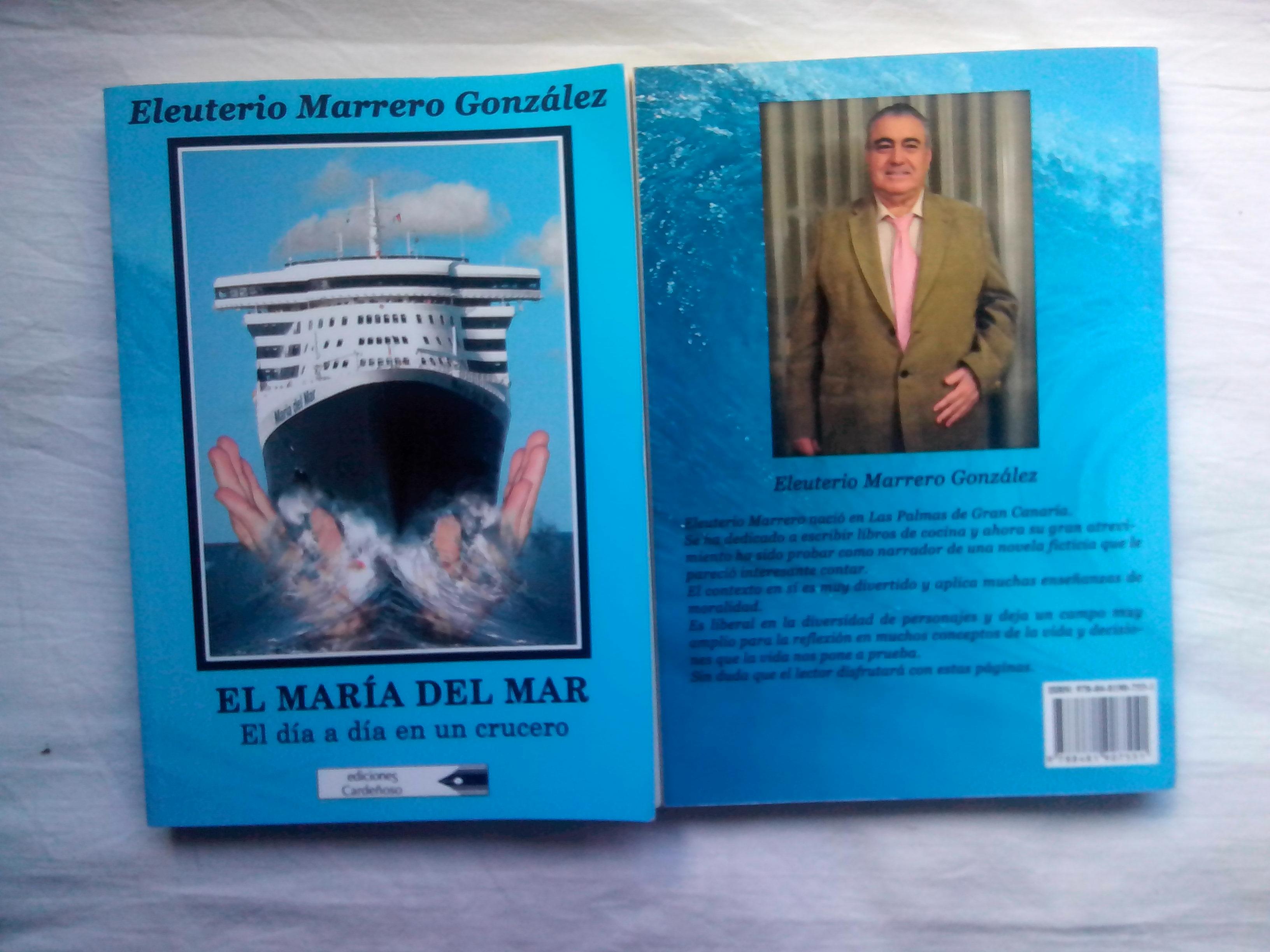 """Próximo viernes 14 de marzo: presentación del libro """"El María del Mar"""", en 'Usted qué opina'"""