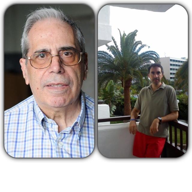 Gregorio Mateu y Daniel Picazo en «Nuestro mundo»