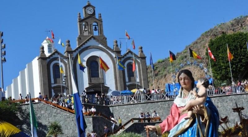 Fiestas en Santa Lucía, en 'Protagonistas ustedes'