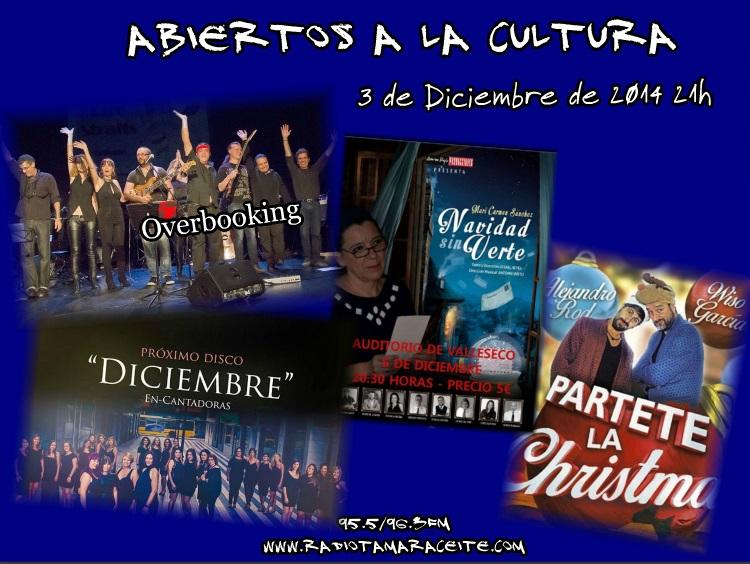 """Música y teatro en """"Abiertos a la cultura"""""""