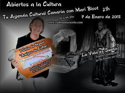 Juanka en «Abiertos a la cultura»