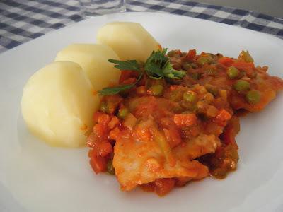 Menú de vigilia de Semana Santa, 'En la cocina'
