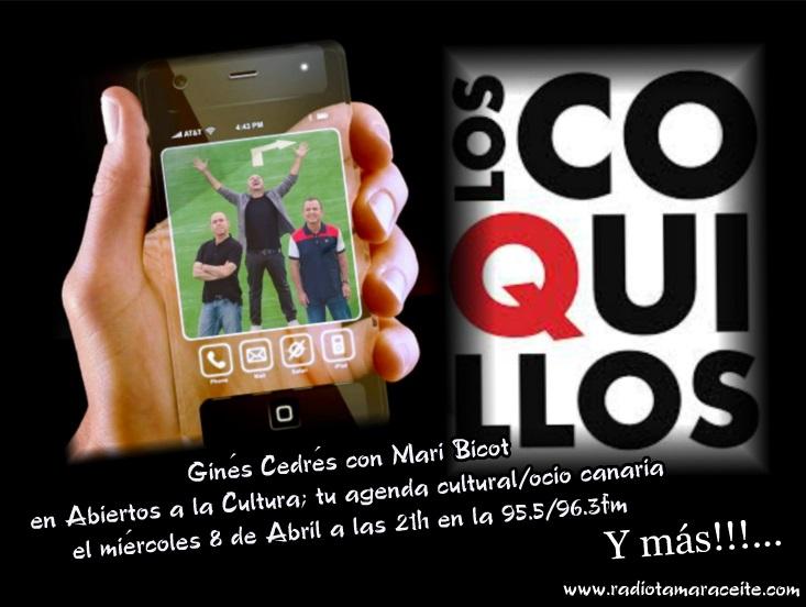 'Abiertos a la cultura' entrevista a Ginés Cedrés, líder de 'Los Coquillos