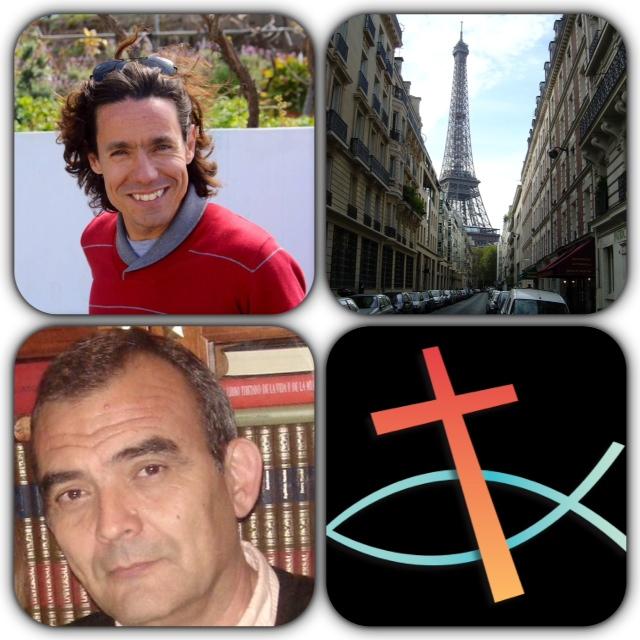 Cesar Sar y Juan Luis Barragan en «Nuestro mundo»