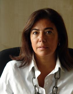 La pregonera del Pino 2015, Lidia Esther Quintana, en 'El andén'