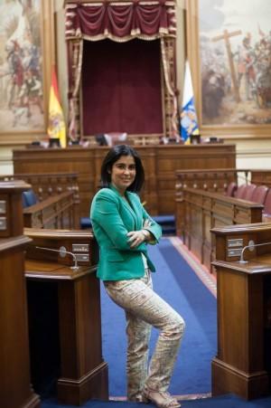 Vuelve 'El andén' con la presidenta del Parlamento, Carolina Darias