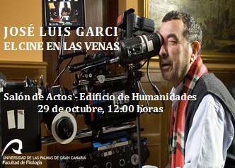 Jose Luis Garci en Las Palmas de G.C
