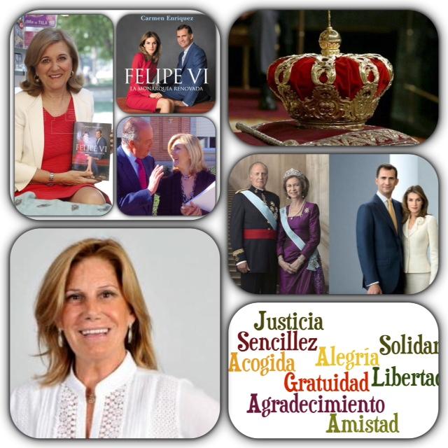 """Carmen Enriquez y Carmen Garcia Vinuesa en """"Nuestro mundo"""""""