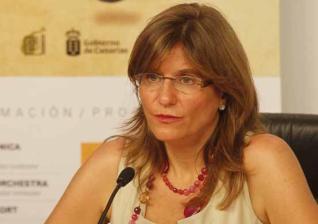 "Candelaria Rodriguez Afonso en ""El andén"""