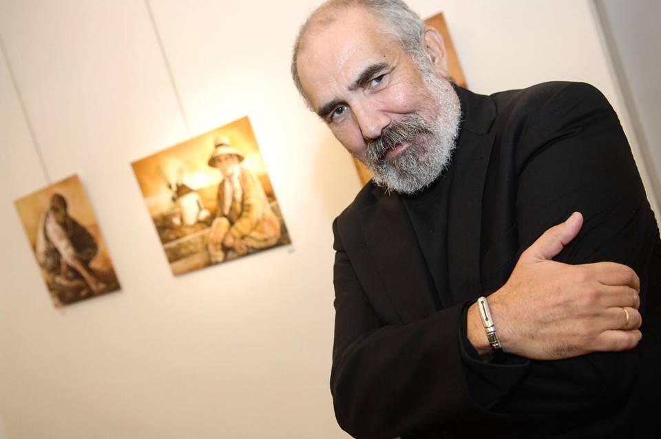 El pintor Juan Alberto Diaz en «Respirando Ciudad»
