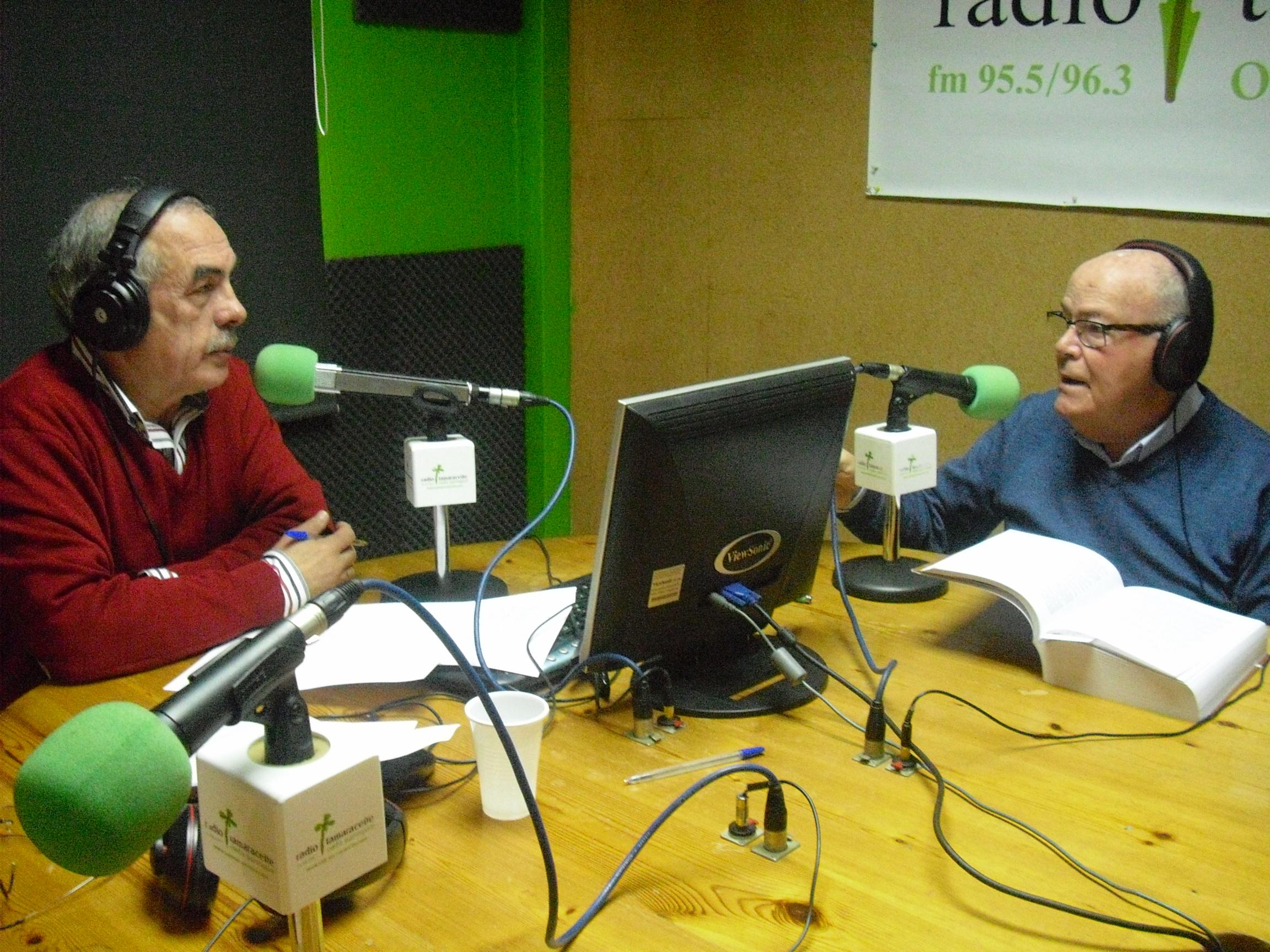 Nicolás Sánchez Grimón, cronista de Valleseco, en 'El andén'