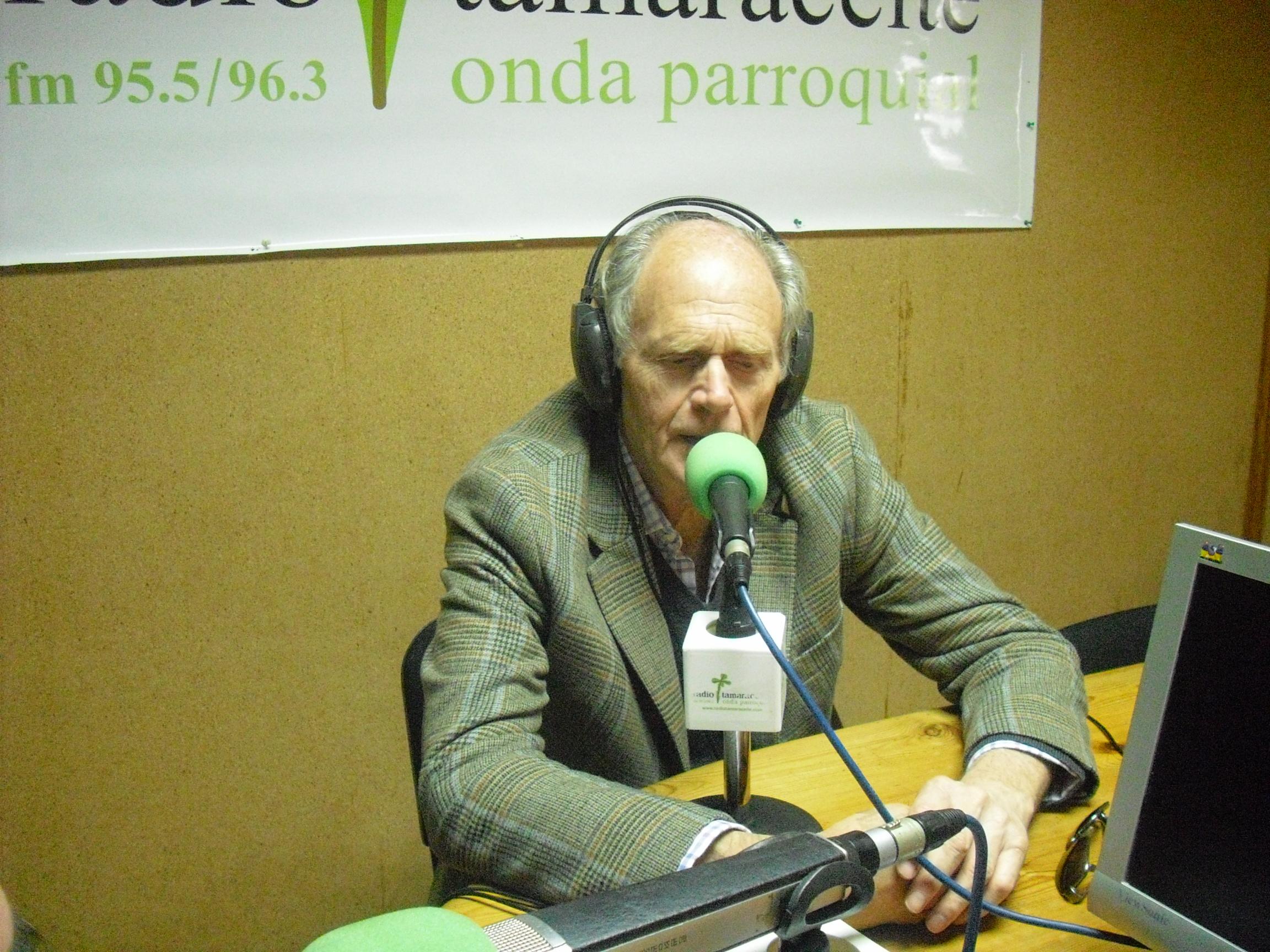 'El andén' recibe al director de la Real Sociedad Económica de Amigos del País