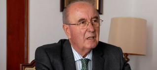Joaquín Espinosa, decano de Colegio de Abogados, en 'El andén'