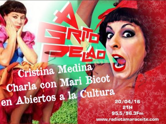 'Abiertos a la cultura' entrevista a Cristina Medina, actriz de 'La que se avecina'