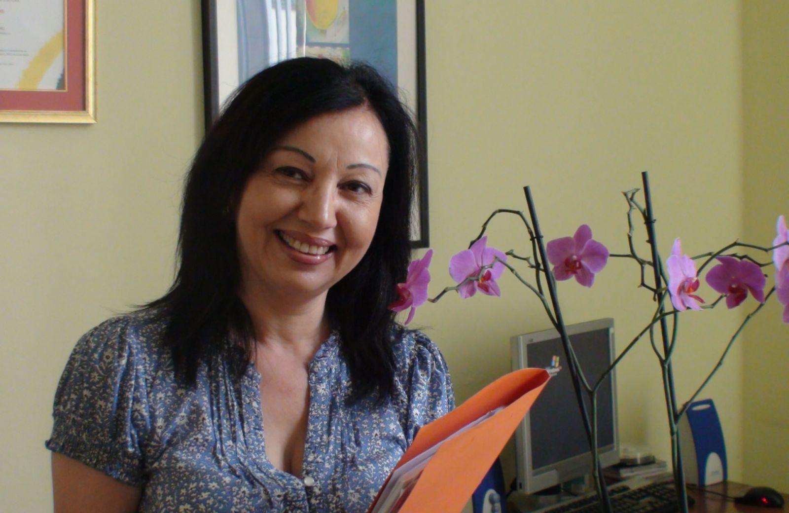 La directora del IES Pérez Galdós, en 'El andén'