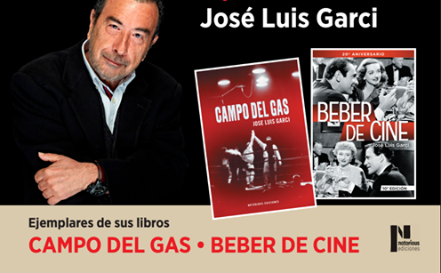 Jose Luis Garci presenta libro en «Sesión Continua»