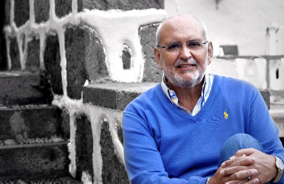 El escritor Joaquín Nieto en 'El andén'