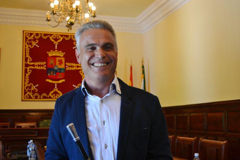 Gonzalo Rosario, alcalde de Teror, en 'El andén'
