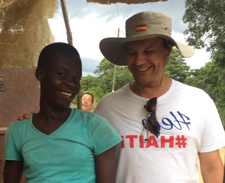 Pedro Ramos, voluntario en Haití, en 'El andén'