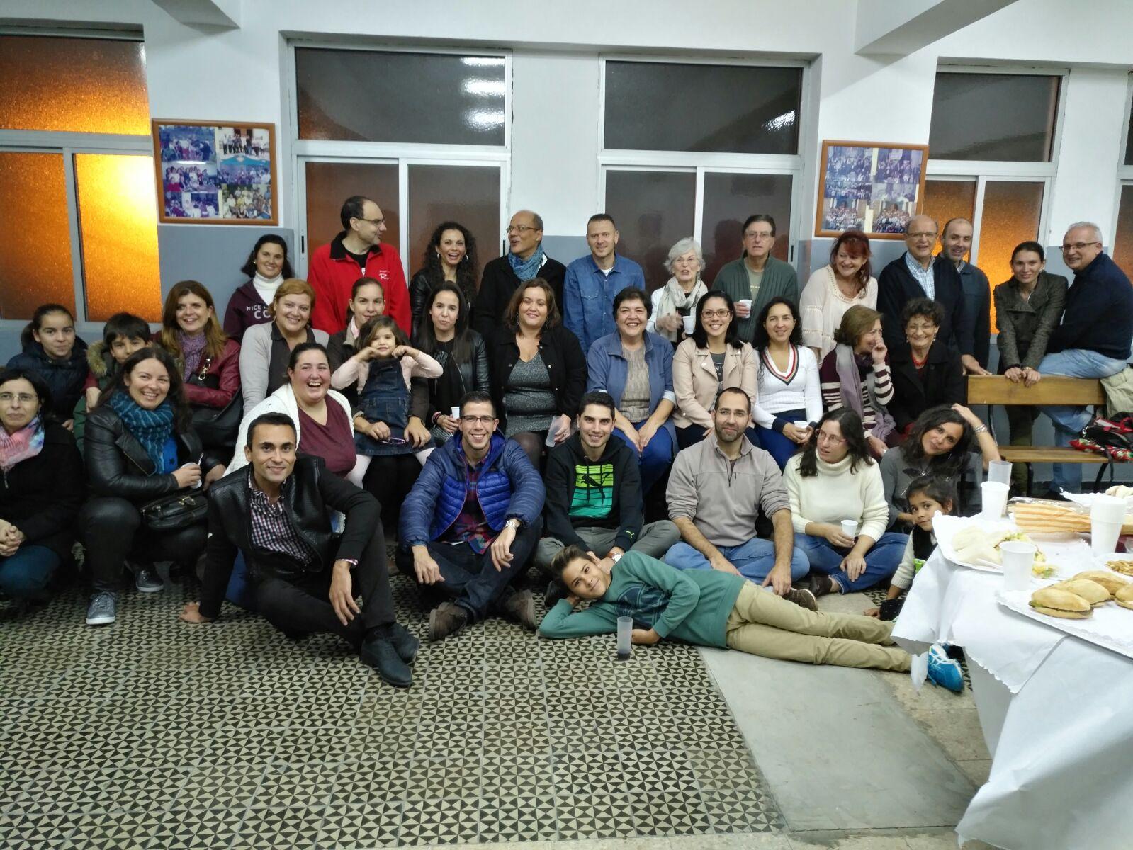 Encuentro de final de año de los colaboradores de Radio Tamaraceite