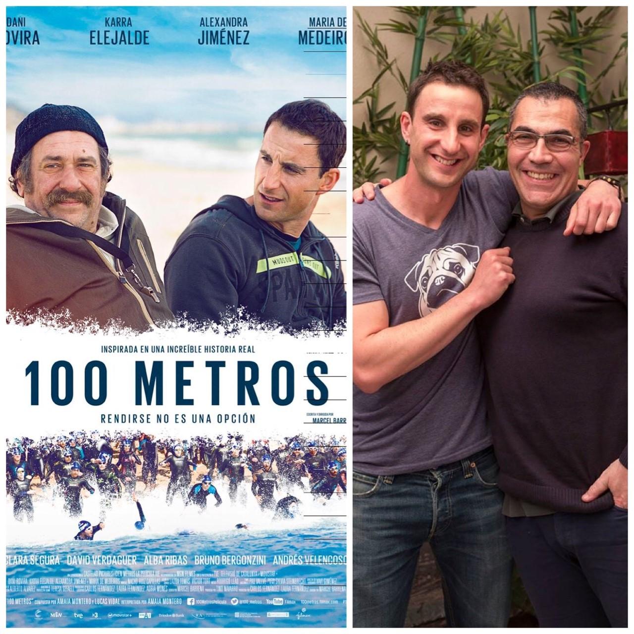 """Ramón Arroyo, de la película """"100 metros"""", en 'Que Viva la Vida'"""