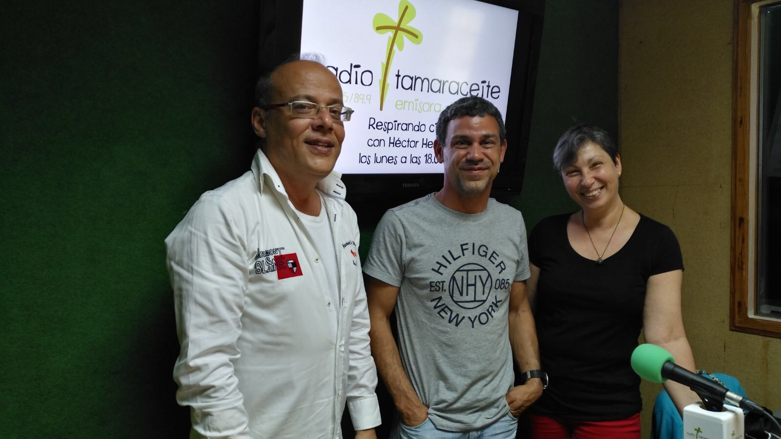 Sergio Pérez y Matilde Menkara en «Respirando Ciudad»