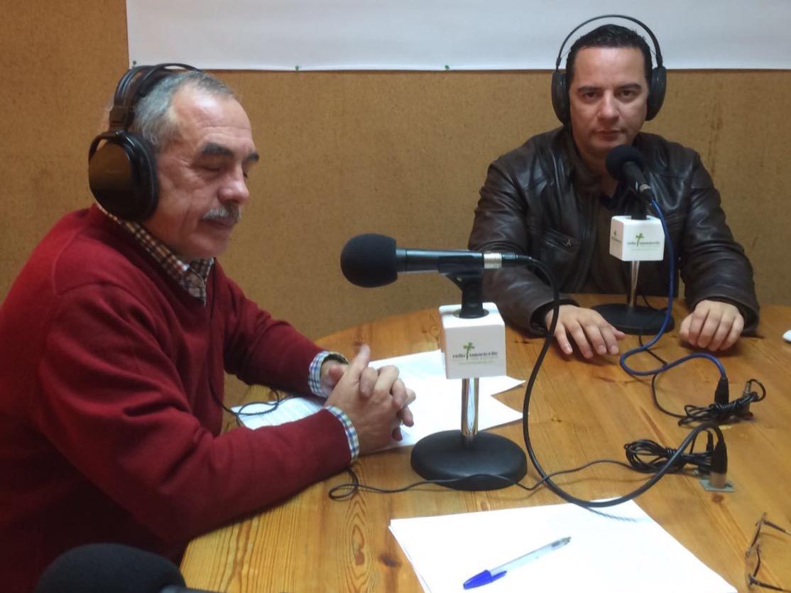 Poli Suárez, alcalde de Moya, en 'El andén'
