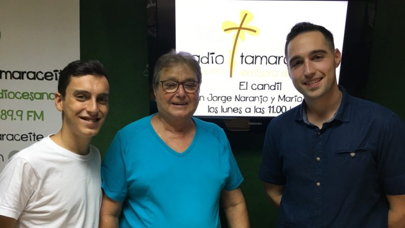 Jose Falcón de la parranda El cafe-tín, en 'El candil'