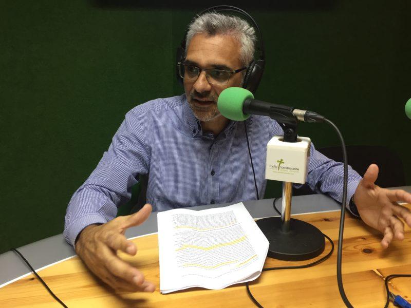 'El andén' entrevista a Esteban Santana
