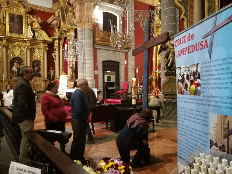 La cruz de Lampedusa en Gran Canaria, en 'Solidaridad'