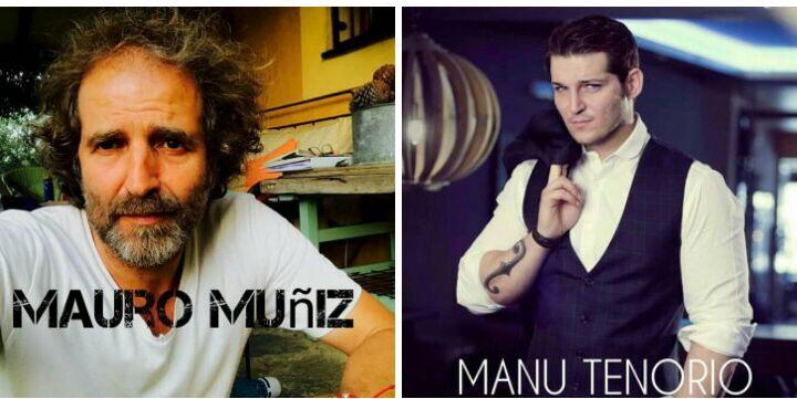 Manu Tenorio y Mauro Muñiz, en 'Abiertos a la cultura'