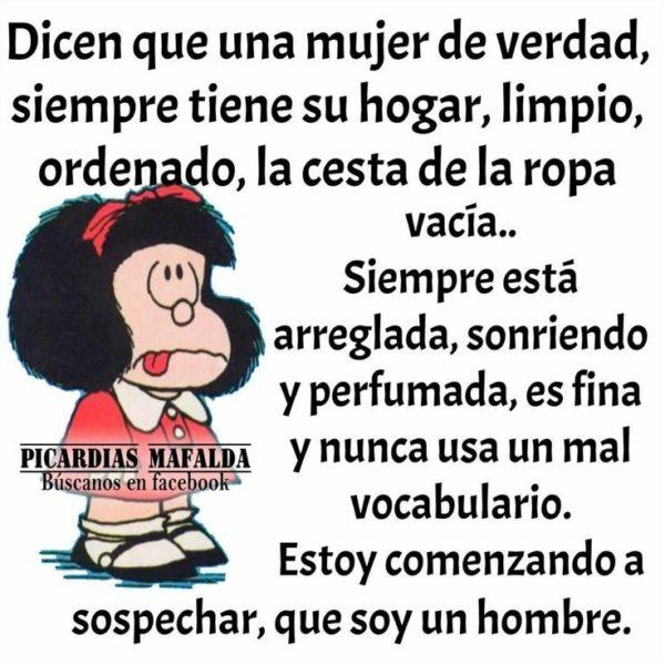 Fémina o feminista –La sabia Mafalda–, en 'De camino por la vida'