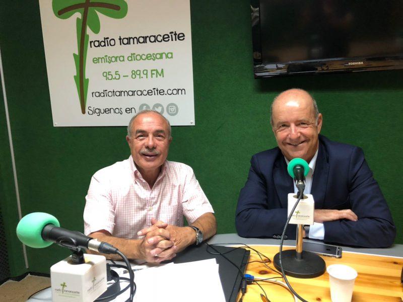 Pedro Ortega, pregonero del Pino, este jueves en 'El andén'