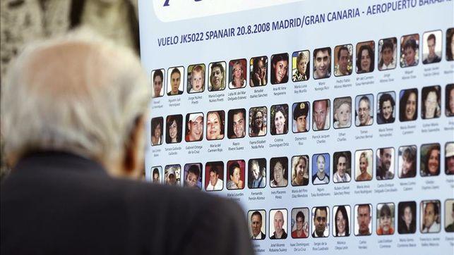 'El andén' dedicado al décimo aniversario del accidente del vuelo JK5022