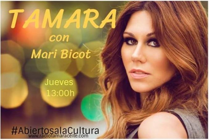 'Abiertos a la cultura' entrevista a Tamara