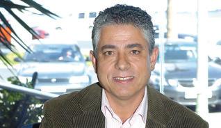 Tomás Pérez, alcalde de La Aldea, en 'El andén'