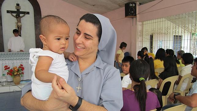 La misionera Mapy Rodríguez se despide en La casa de la iglesia